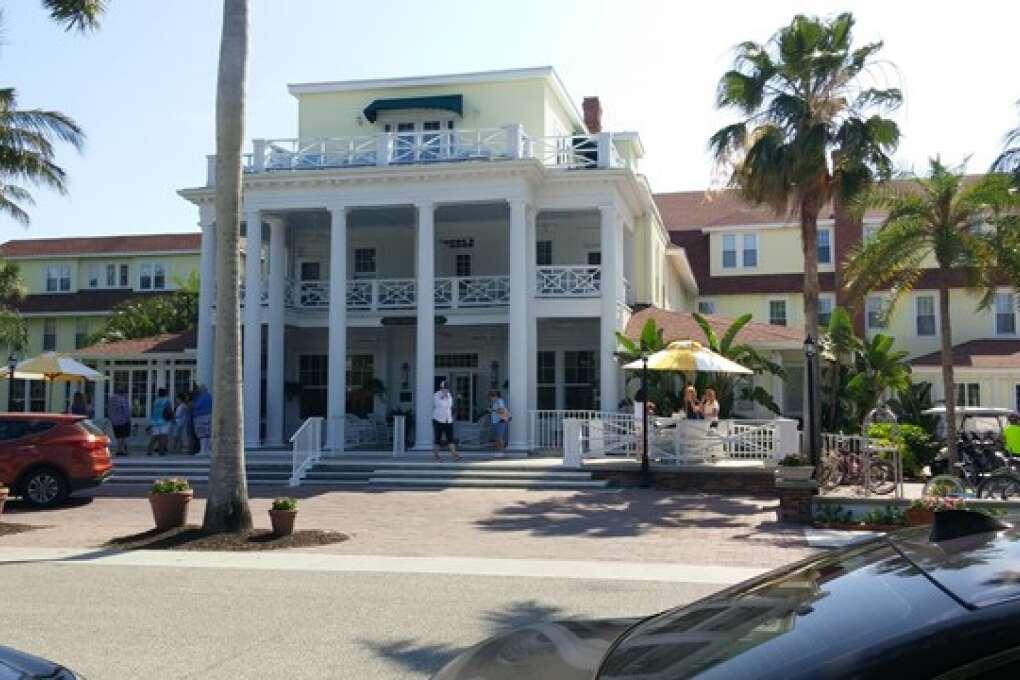 Gasparilla Inn and Club Exterior