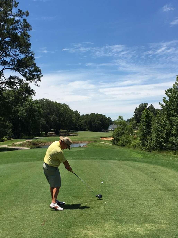 no 4 tee at southwood golf club