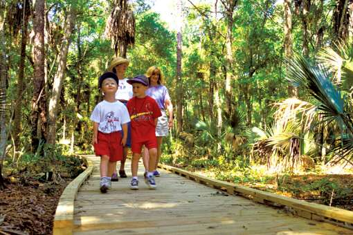 Explore Native American history at Big Cypress Seminole Reservation.
