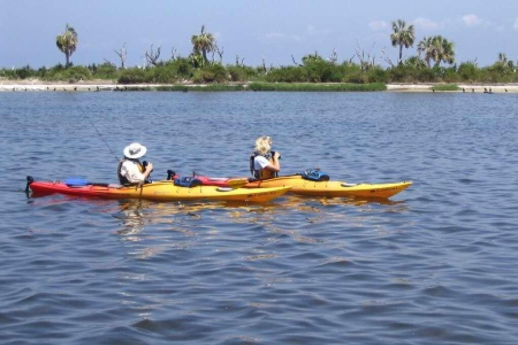 Coastal Kayaking the Big Bend Saltwater Paddling Trail