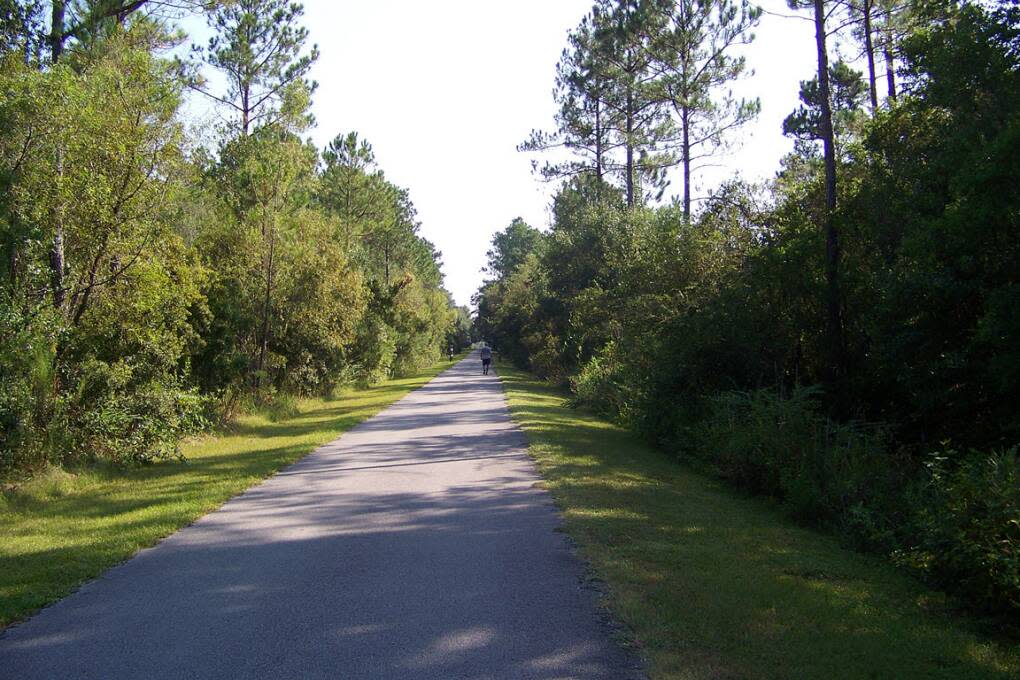 bike trails florida - black heritage state trail