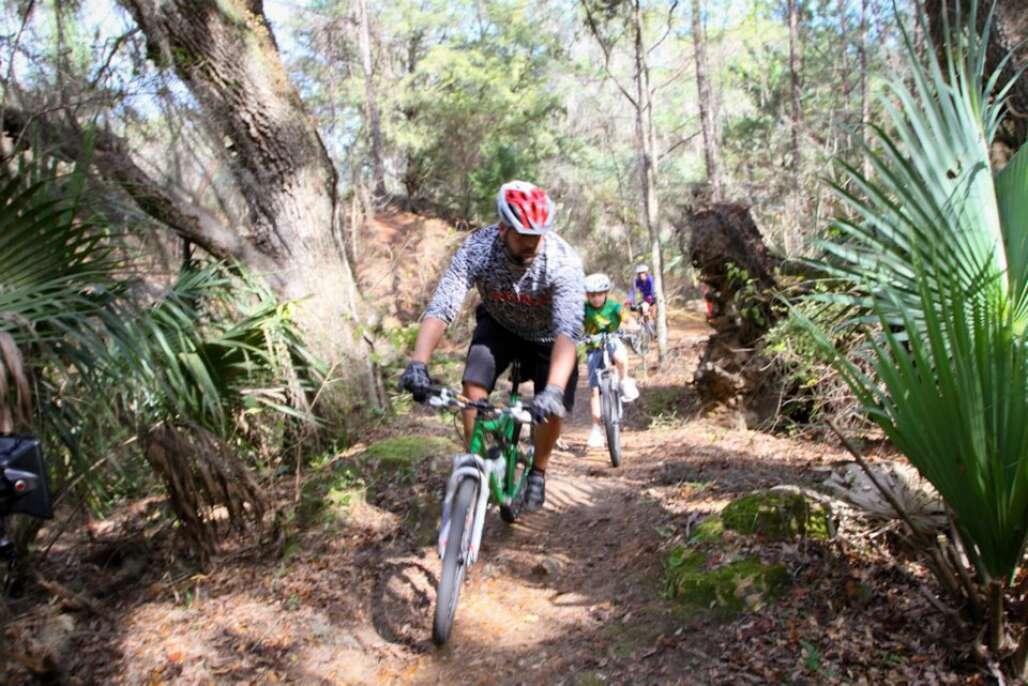 bike rides florida - greenway santos trails