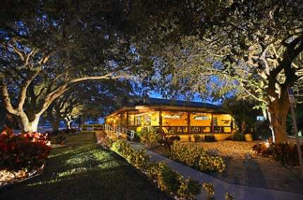 Along the Kissimmee River, nestled under Live Oak trees, you'll find Lightsey's Seafood Restaurant.