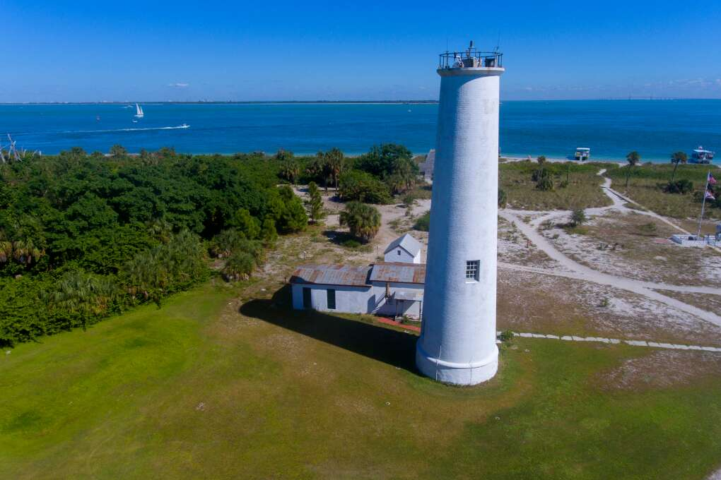 People come to Egmont Key for the beach, to explore the ruins of a century-old fort, to observe the shore birds and gopher tortoises and to walk wooded trails wending through the island.