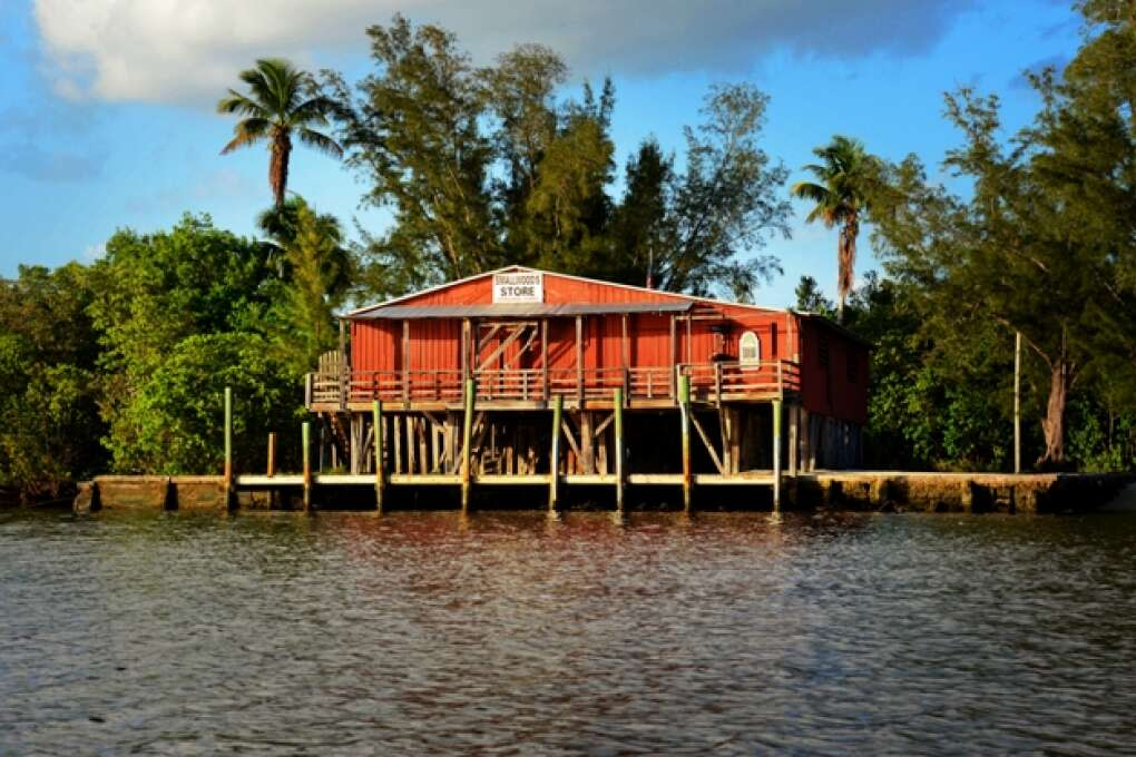 ted smallwood store at the everglades