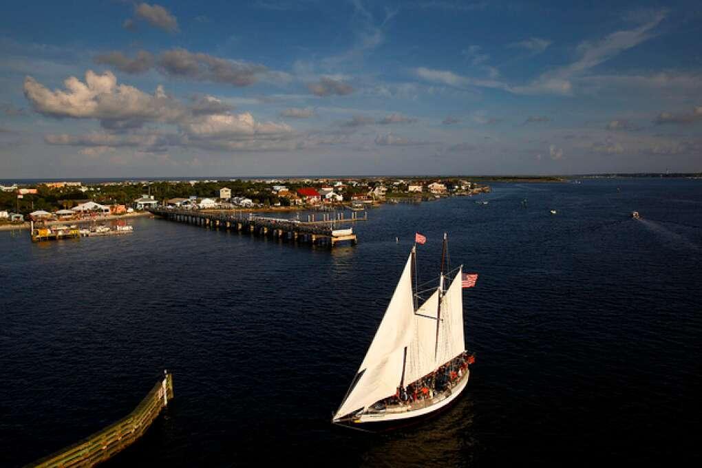 Top Waterways Locations - The Schooner Western Union