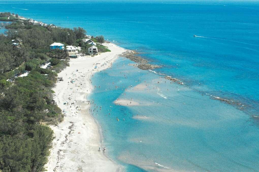 Bathtub Beach in Martin County Florida