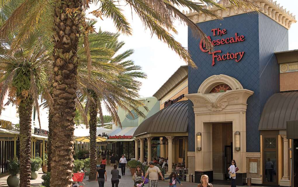 Sawgrass Mills is located in Sunrise and is the largest outlet and value retail shopping destination in the United States.