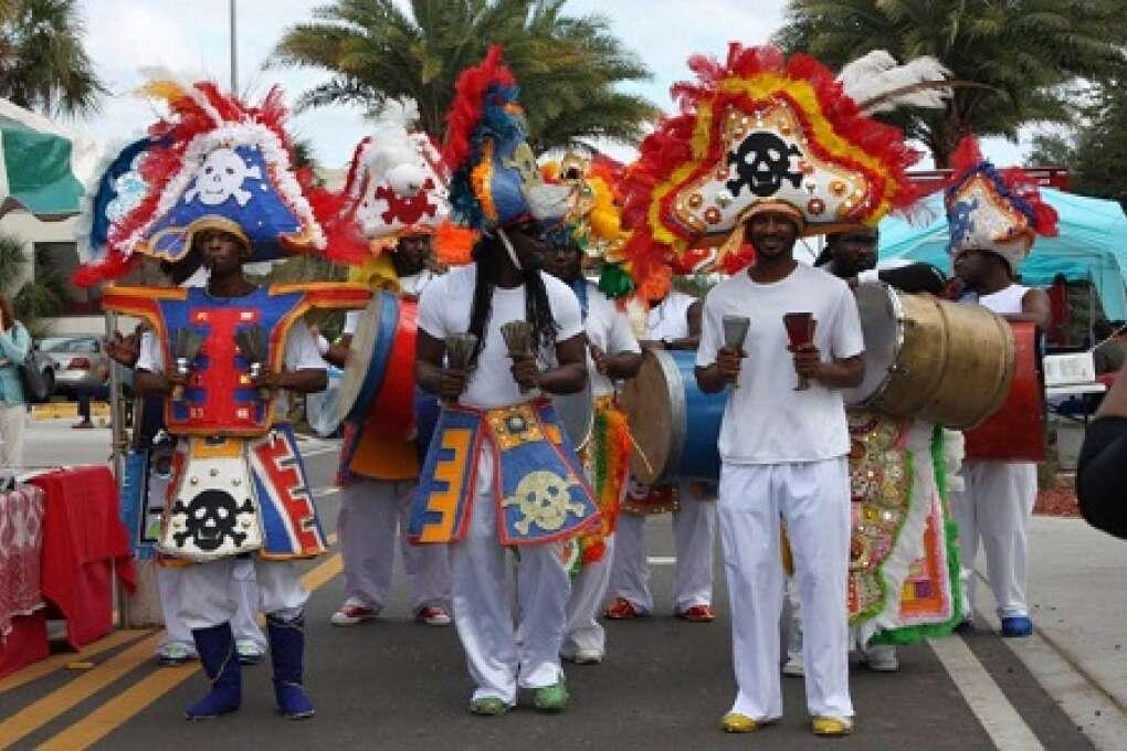 Bahamian American Parade in Tarpon Springs