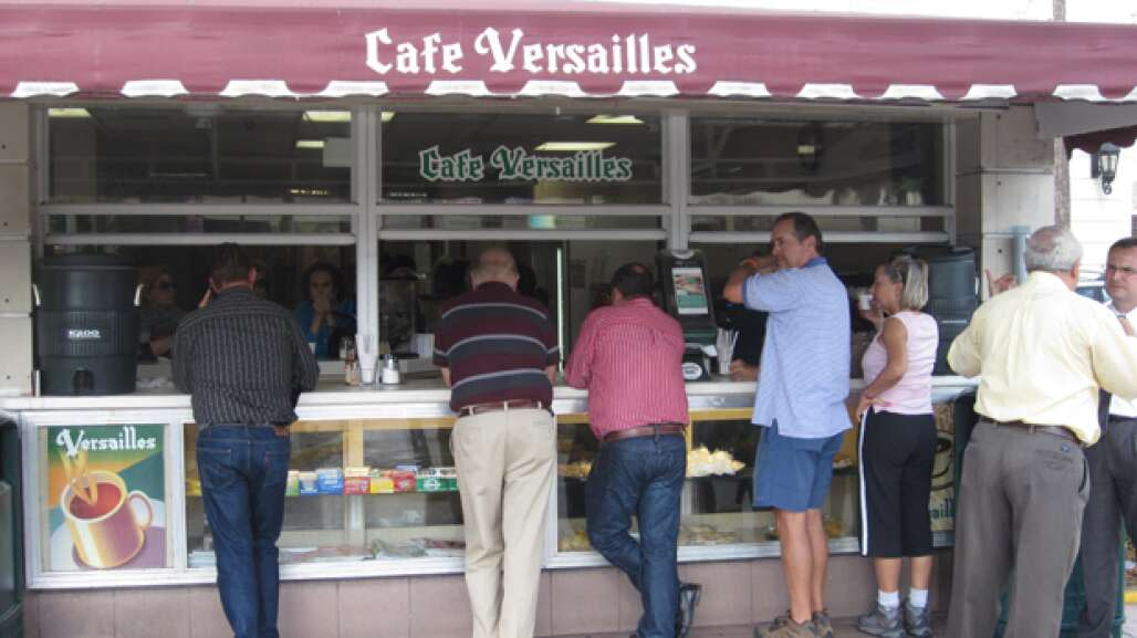 Cafe Versailles on Miami's Calle Ocho has been serving Cuban coffee, cuisine and culture for four decades.