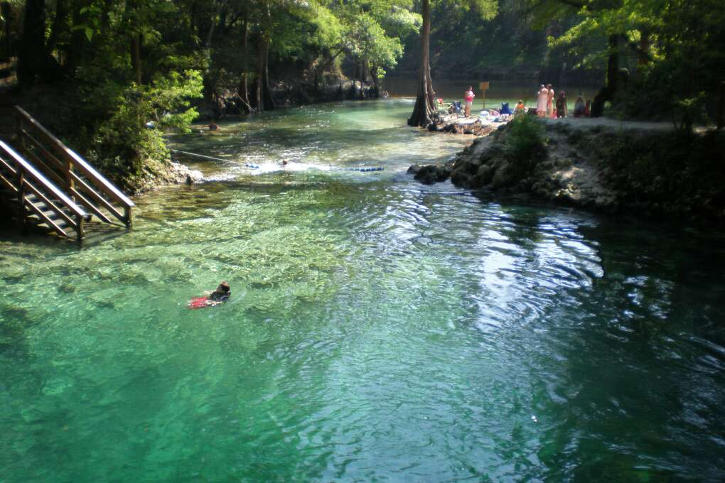 In north Florida, Manatee Springs State Park in Chiefland is a remote piece of tranquility, the perfect spot to get away from it all.