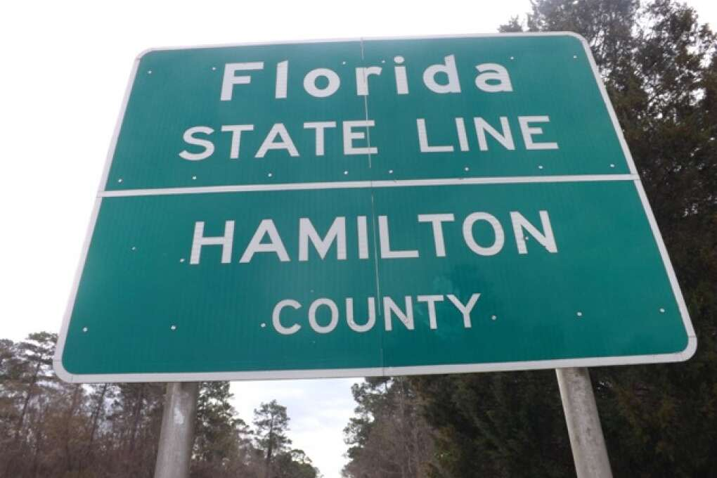 Hamilton County Sign