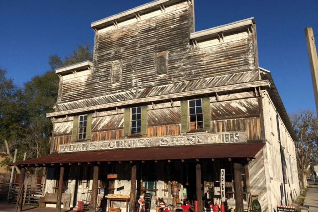 Adams Country Store is brimming with antiques and collectibles that fit perfectly with White Springs' Old Florida feel.