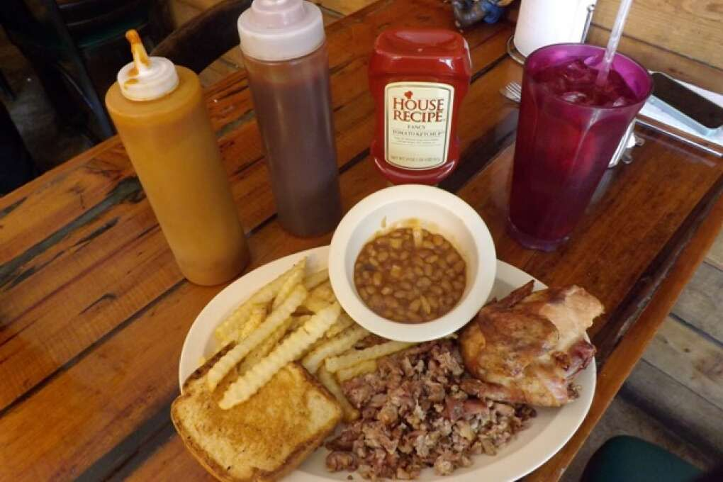 Fat Belly's Bar-B-Que and Grill Plate