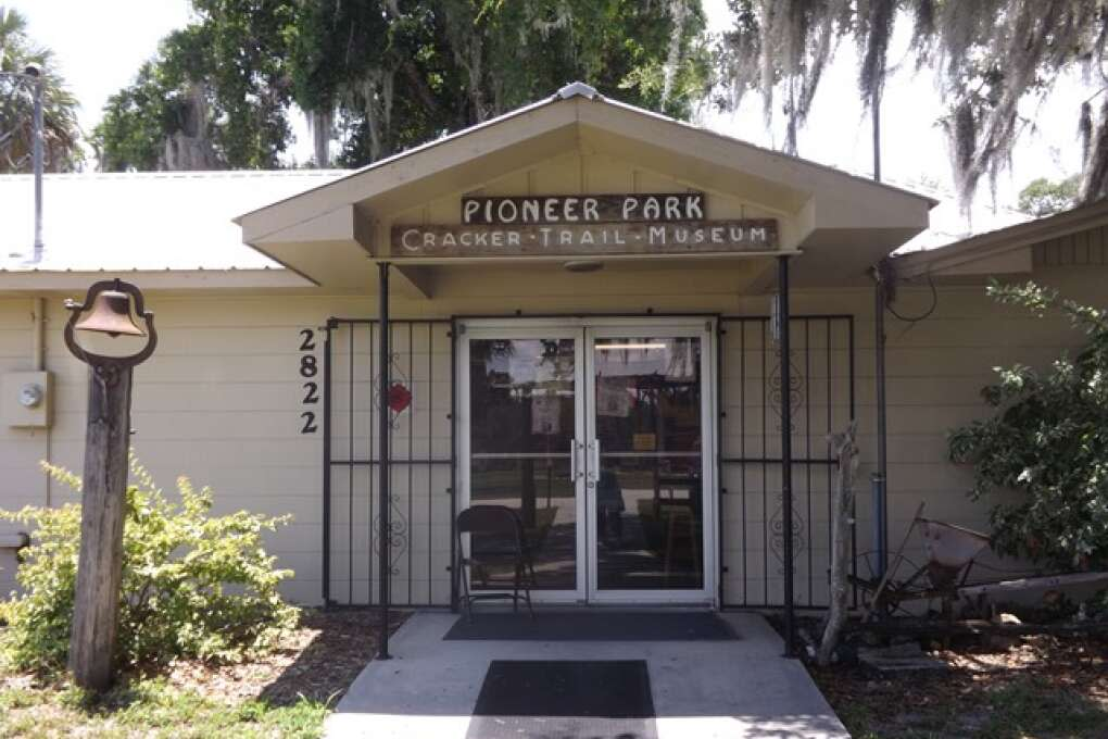 Pioneer Park's Cracker Trail Museum Office