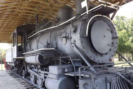 "1904 Baldwin steam locomotive the ""Loping Gopher"""