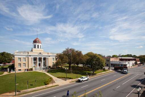 COURTHOUSE SQUARE: The Gadsden County Courthouse is the center of downtown Quincy with highways 90 and 12 intersecting at one the corners. A courthouse has been in this spot since 1827.