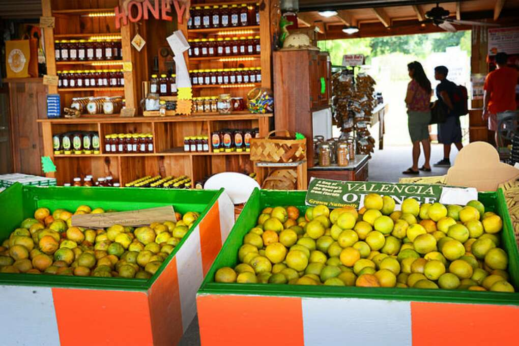 Farmer John's Country Store Citrus products at Clermont's Showcase of Citrus