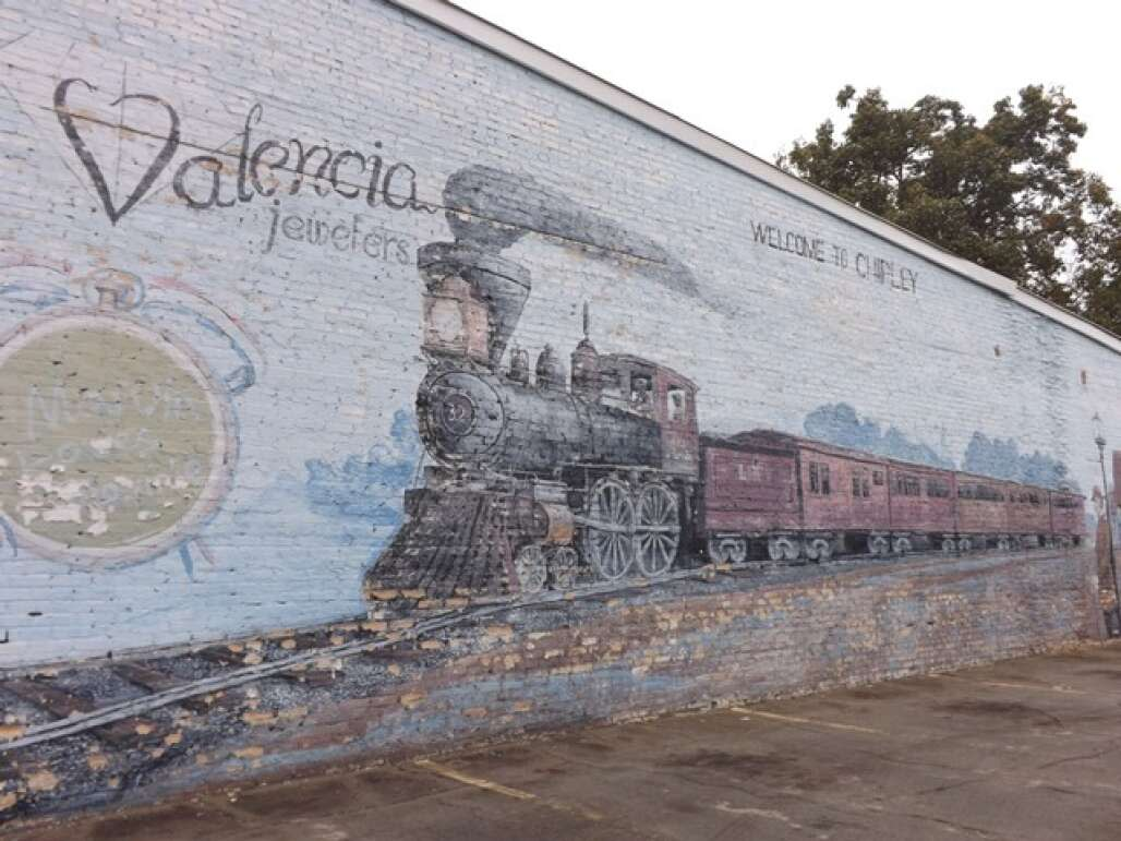 A wall mural in Chipley that has helped build Washington County in Florida