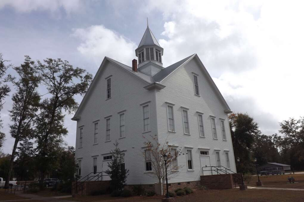 The old courthouse in Wakulla