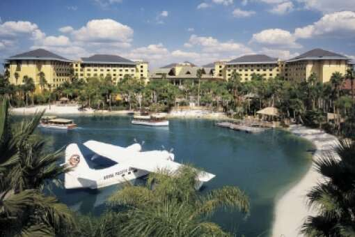 Situated on a 53-acre site, the Royal Pacific Resort at Universal Orlando Resort features 1,000 luxury guest rooms and suites.