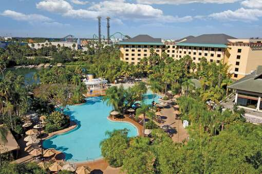 If you prefer a tropical setting for your trip, Loews Royal Pacific Resort is the perfect getaway in the heart of the Universal Orlando Resort property