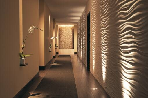Seagate Spa's Wave Wall