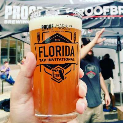 Proof hosts several events throughout the year, including the annual Florida Tap Invitational