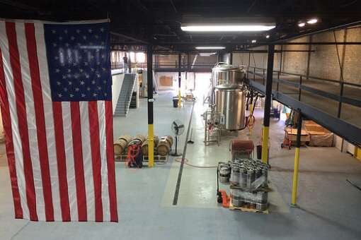 engine 15 brewery  production warehouse in jacksonville