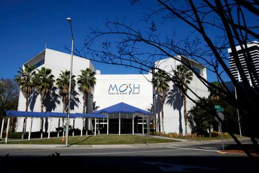 The Museum of Science and History is located at 1025 Museum Circle in downtown Jacksonville. The attraction is open seven days a week.