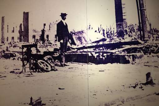 The Great Fire of 1901 burned 455 acres of Jacksonville