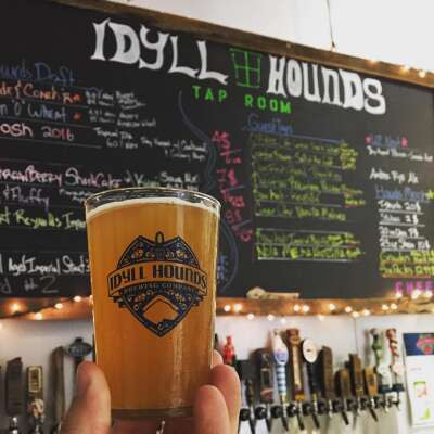 Taproom at Idyll Hounds Brewing Co.