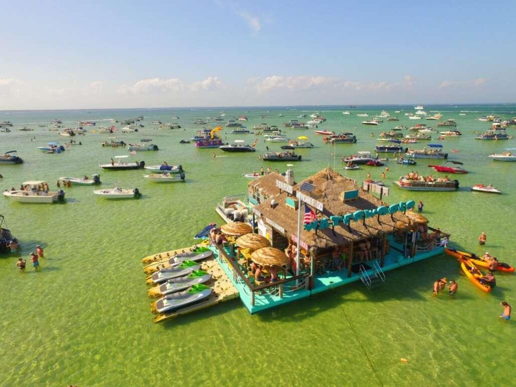 Crab Island em Destin
