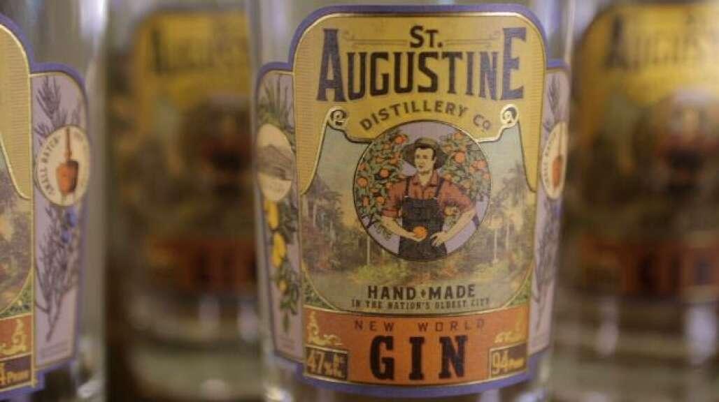 La destilería de St. Augustine