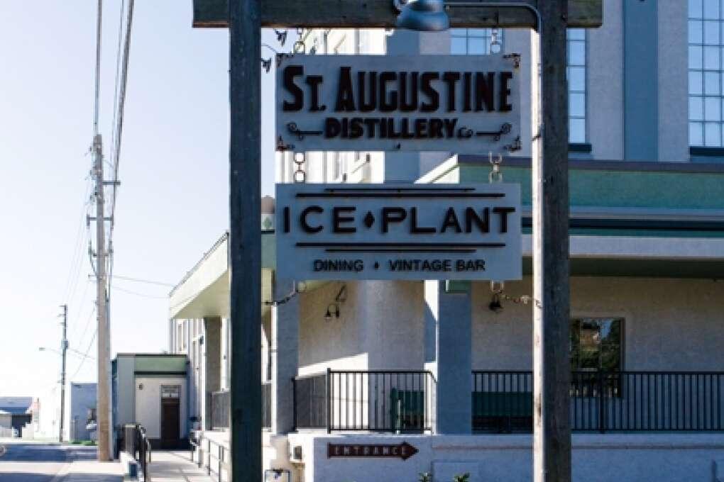 La destilería en St. Augustine