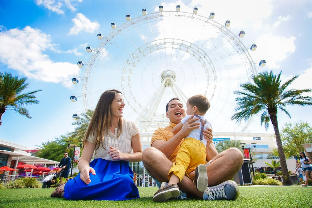 Stand beneath the ICON Orlando Observation Wheel and you'll be looking up at the tallest wheel on America's East Coast.