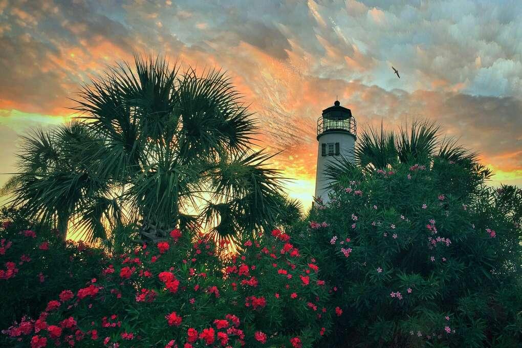 pintoresca costa del Panhandle de la Florida