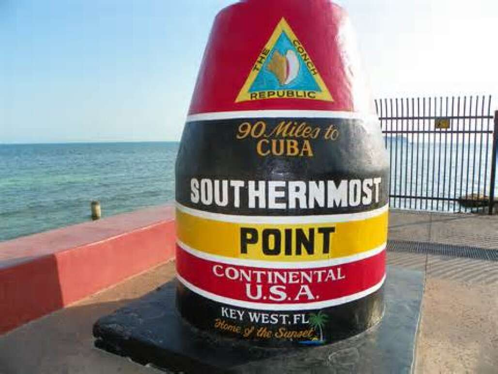 The Southernmost Point is only the southernmost in the continental U.S. Hawaii is further south.