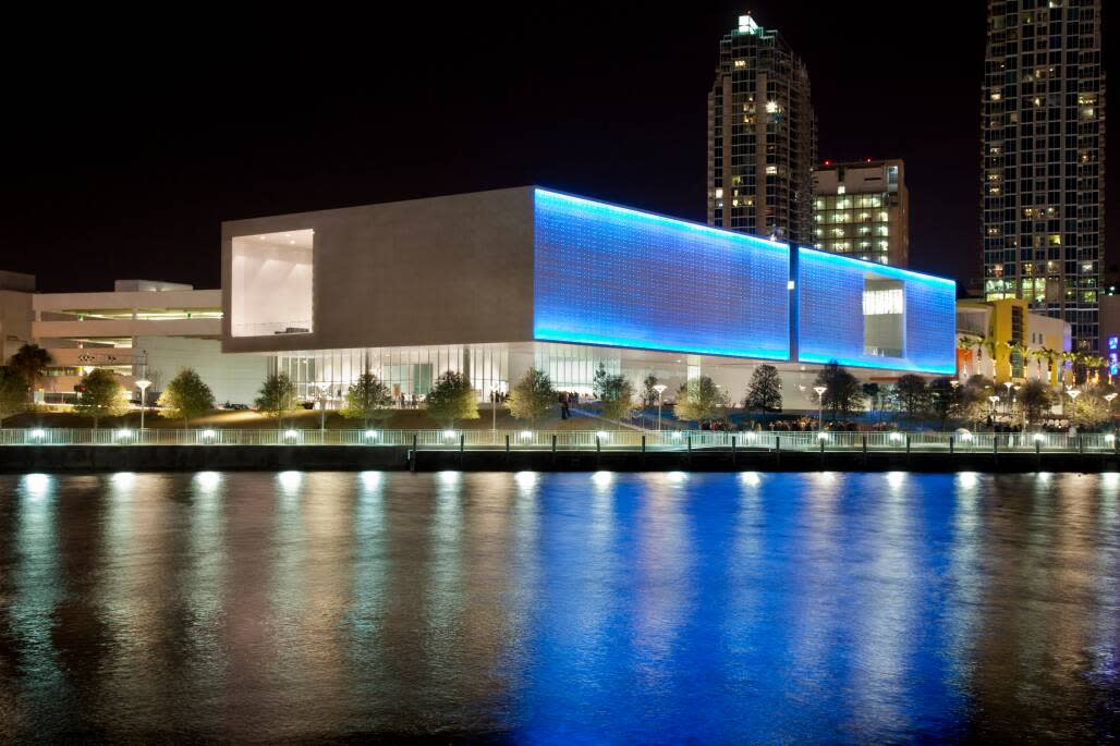 The Tampa Museum of Art brings an artistic touch to the Tampa area with its dazzling exterior as well as its exhibits.