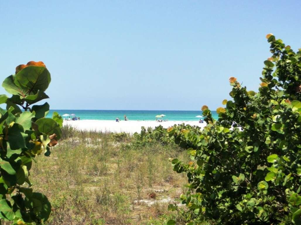 Sarasota, Florida beach