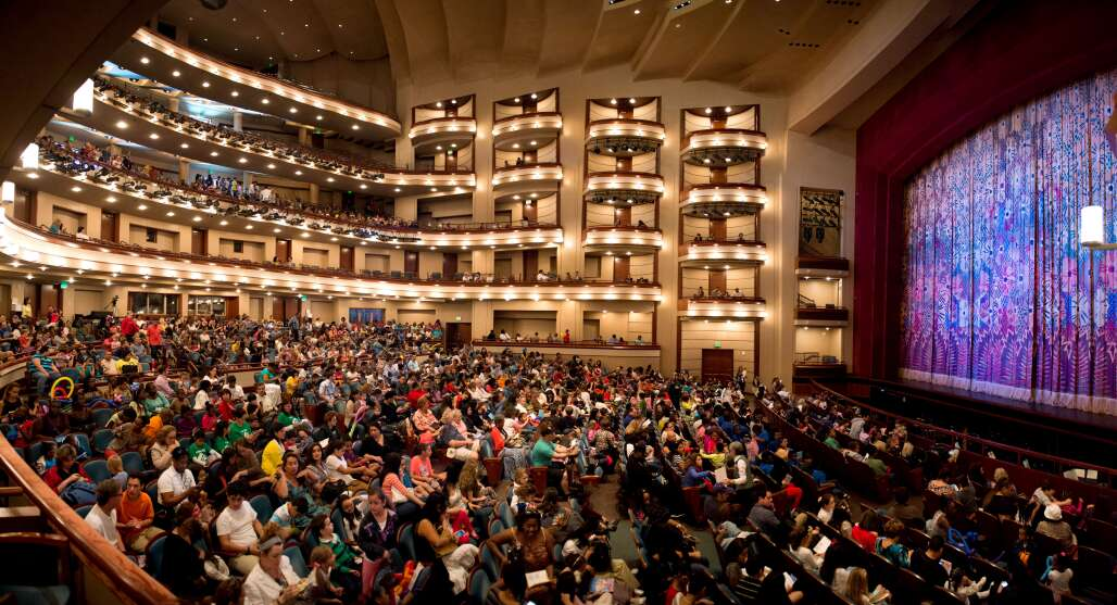 """The Adrienne Arsht Center's Ziff Ballet Opera House in Miami will be the first stop in the nation when """"On Your Feet!,"""" the Broadway musical about Gloria and Emilio Estefan, goes on tour in the fall of 2017."""