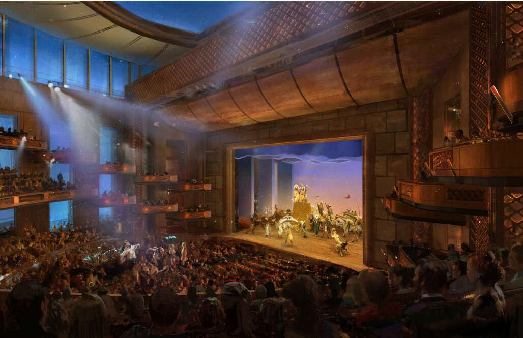 """The Dr. Phillips Center for the Performing Arts in Orlando, slated to show """"Hamilton"""" in 2018-2019, is Florida's newest major cultural complex, opened in 2014."""