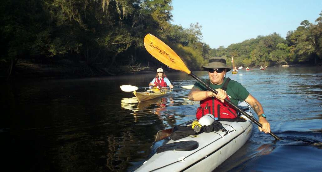 Paddle the Suwannee River Wilderness Trail: Enjoy a lazy 65-mile paddle along the Suwannee River from Madison Blue Spring State Park to Ivey Memorial Park in this multi-day event.