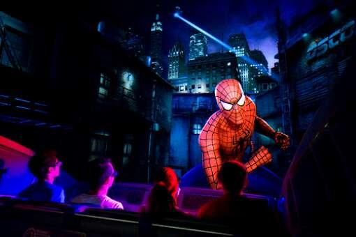 Visita obligada: Las Asombrosas Aventuras del Hombre Araña en Universal Orlando Resort.