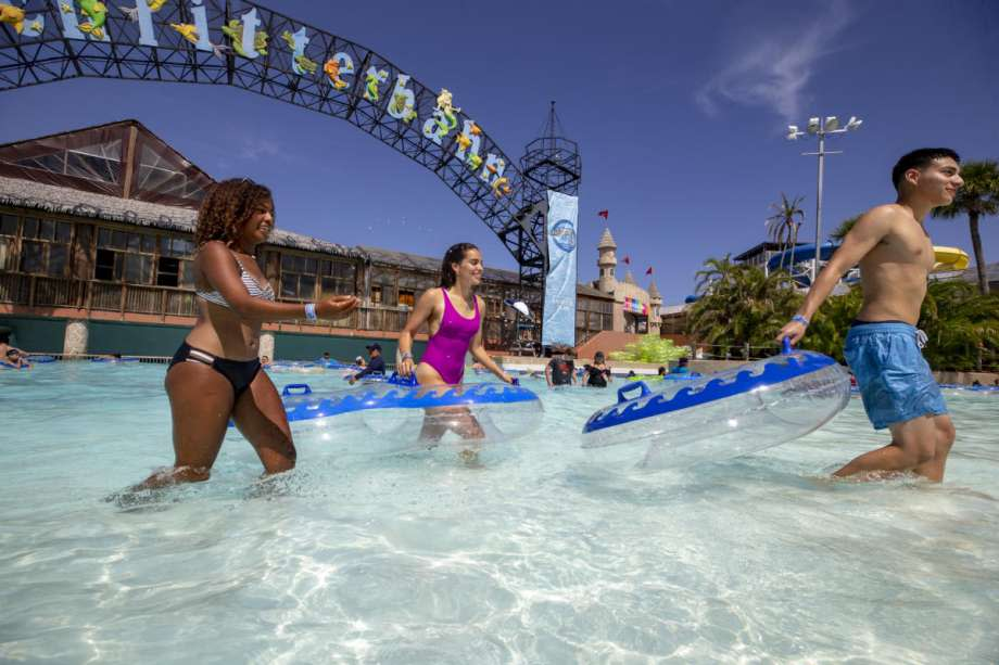 Schlitterbahn will soon reopen its New Braunfels and Galveston waterparks for the summer to a select number of visitors. Photo: Christopher Farias/Schlitterbahn Galveston / www.mikiefarias.com