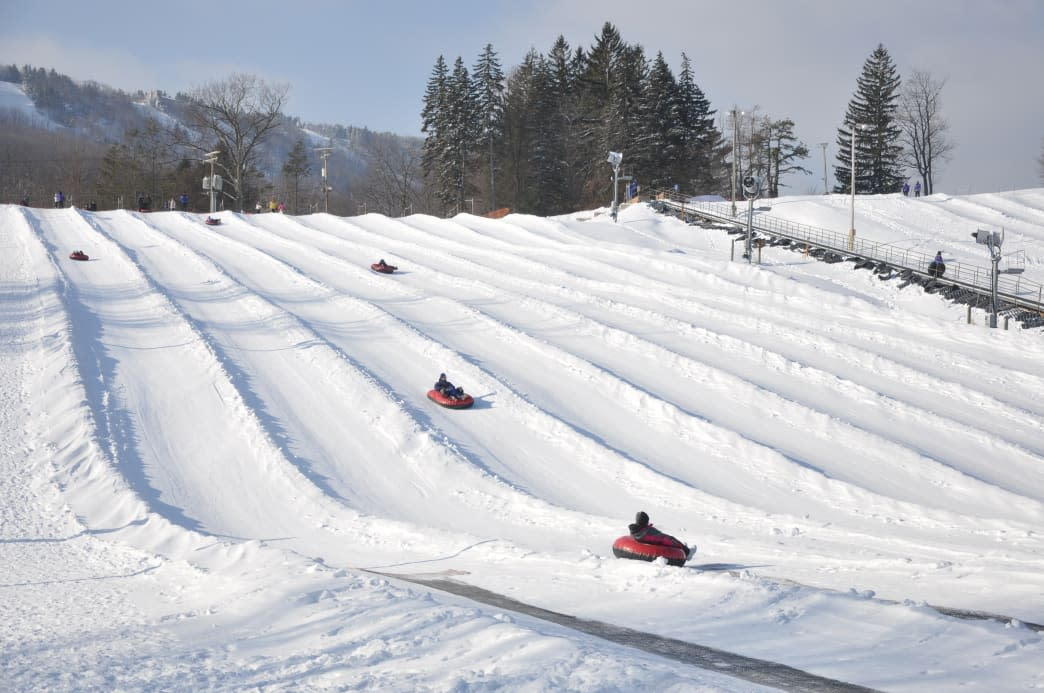 Experience Camelback Mountain Snow Tubing this Winter