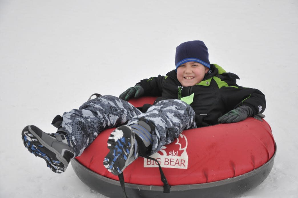 Ski Big Bear Snow Tubing in the Pocono Mountains