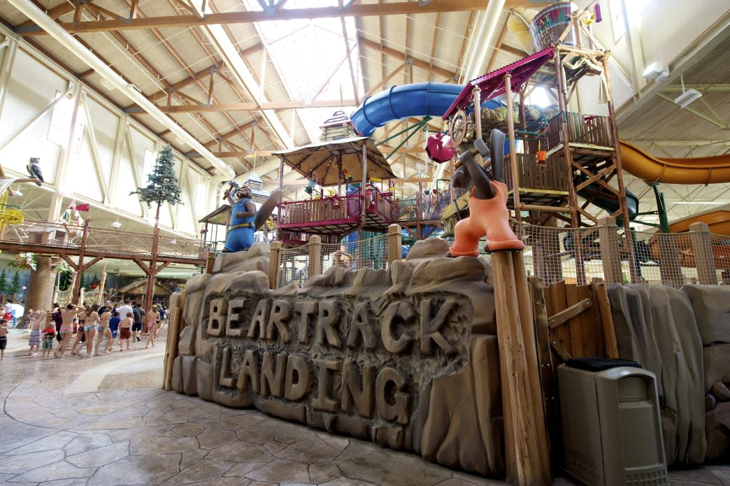 Indoor Waterpark Great Wolf Lodge in the Pocono Mountains