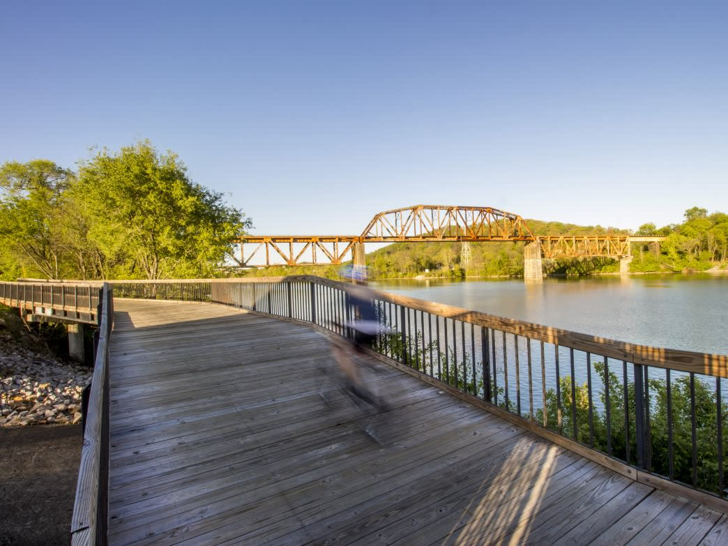 There's no excuse to not get out and enjoy the waterfront Neyland Greenway this summer.