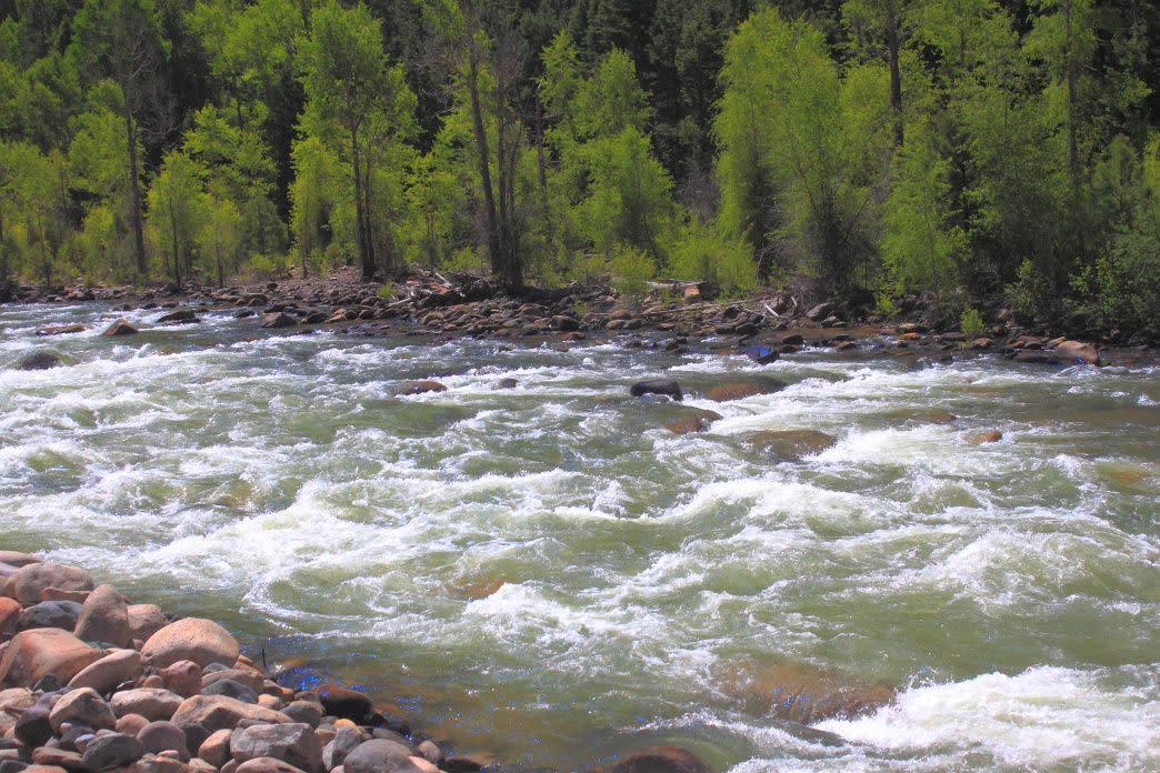Decide for yourself which story is most likely behind the naming of the Animas River.